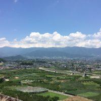 中島農園から見える風景